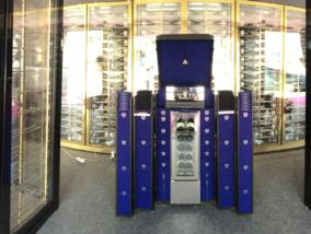 Luxury wine cellar at Cannes Collection