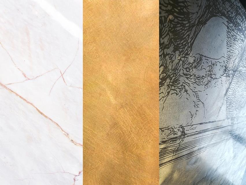 refrigeration finishes marble brass oxiglu