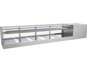 Sashimi refrigerated display